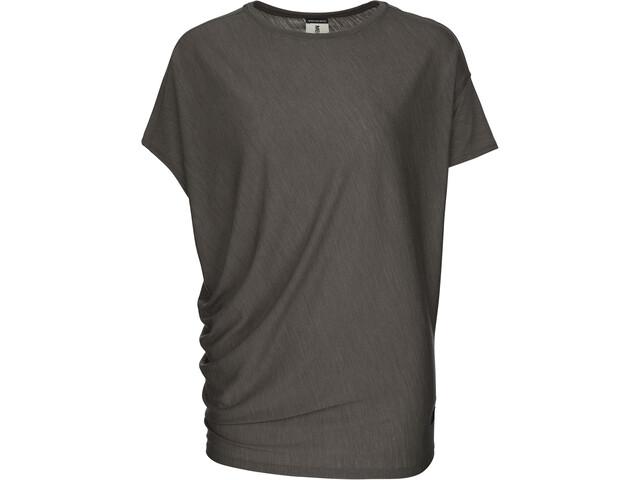 super.natural Yoga Loose - Camiseta manga corta Mujer - Oliva